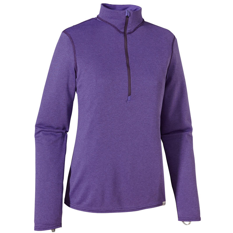 Capilene 3 Mid-Weight Zip-Neck Violetti/Tempest Purple X-Dye