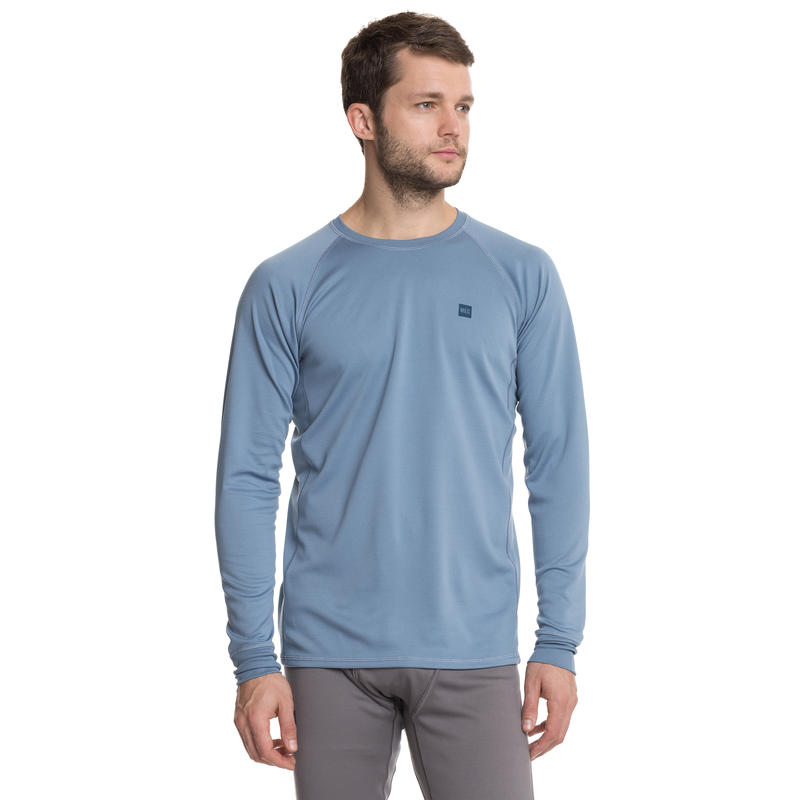 T2 Long-Sleeved Crew Provincial Blue