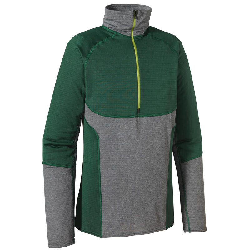 Capilene 4 Pro Zip-Neck Malachite Green