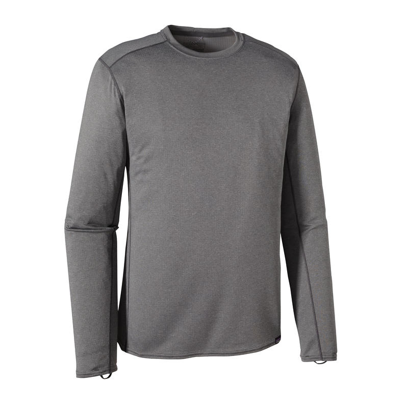 Capilene Midweight Crew Forge Grey/Feather Grey X-Dye
