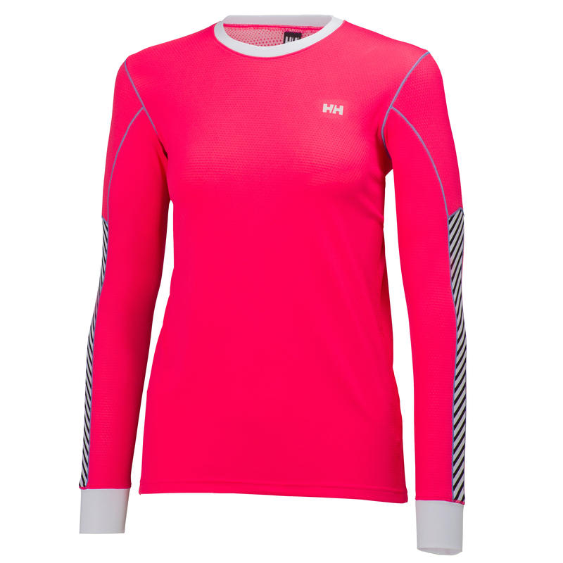 Active Flow Long Sleeved Top Pink Glow