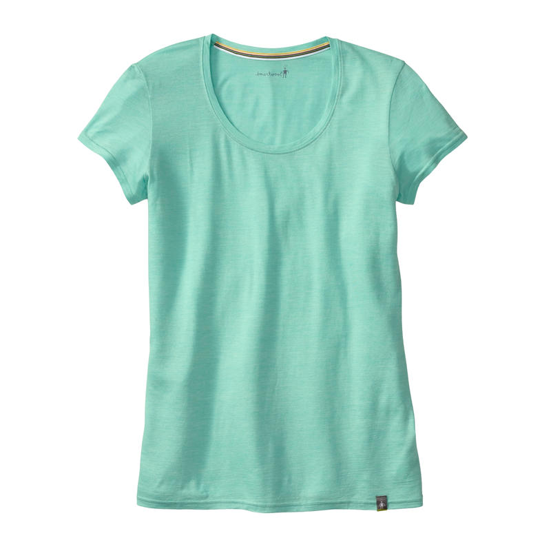 Solid Scoop Tee Mint