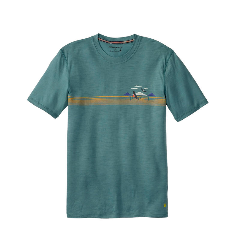 T-shirt NTS Micro 150 T Charley Harper Pin maritime