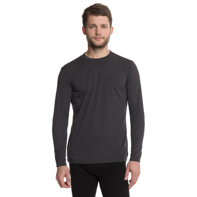 T3 Long-Sleeved Crew Eclipse Heather/Coal