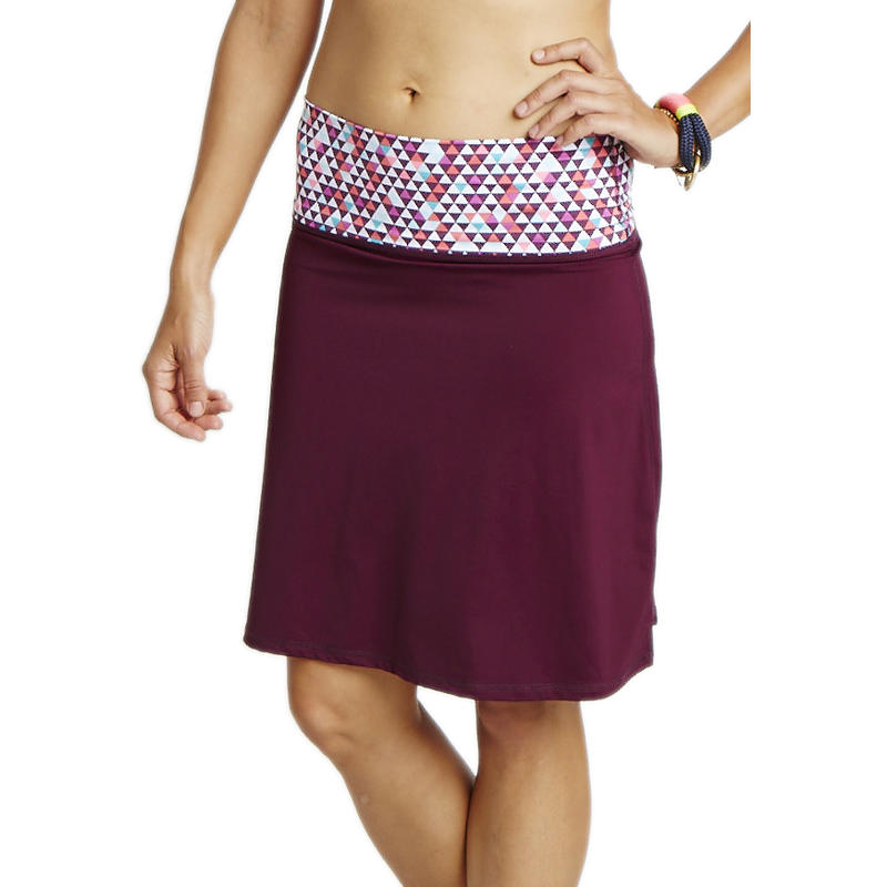 Seaside Skirt Plum