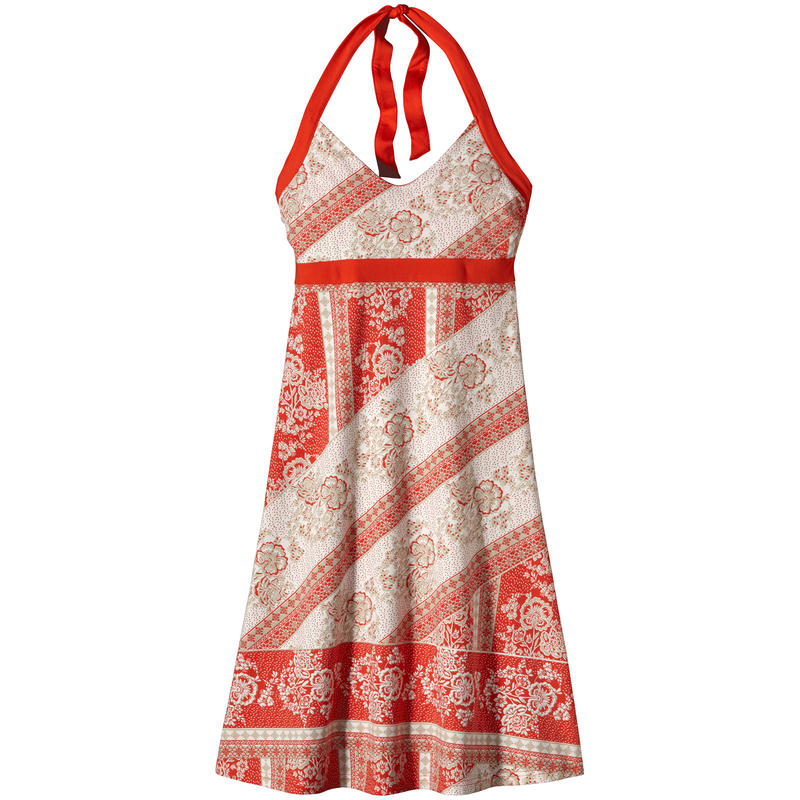 Iliana Halter Dress Klarah/Turkish Red