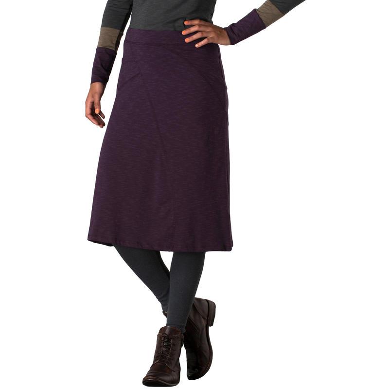 Sascha Skirt Dark Plum