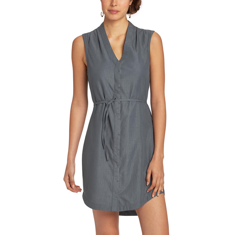 Robe Twisted Chambray indigo