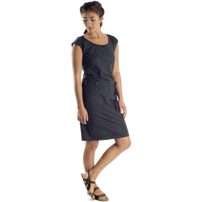 Myria Dress Black Space Dye