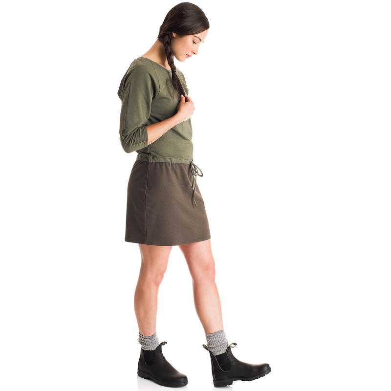About Town Dress Swamp/Black Olive