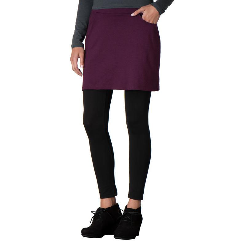 Shortbread Skirt Tyrian Purple
