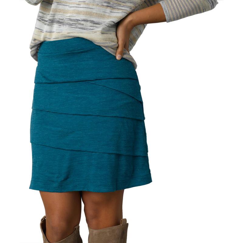 Leah Skirt Mosaic Blue