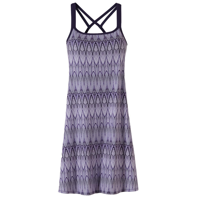 Cora Dress Violet Feather