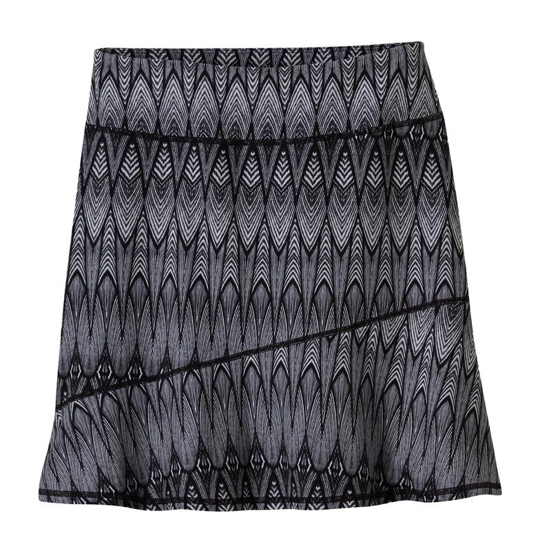 Deedra Skirt Black Feather