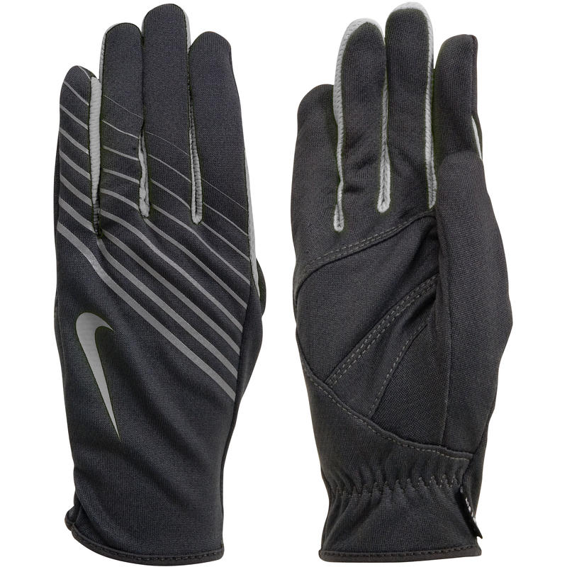 Lightweight Tech Run Gloves Black/Anthracite