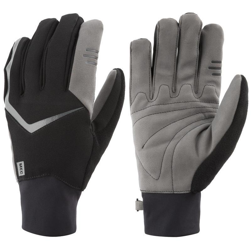 Glide XC Midweight Gloves Black/Dark Grey