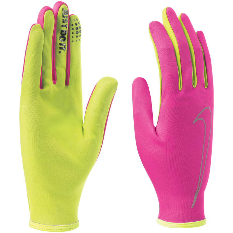 Gants Rally Run Hyper rose/Volt