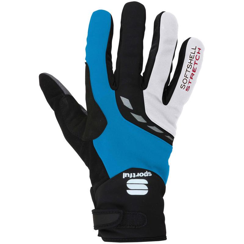 Ultra Thermo Glove Cyan/White