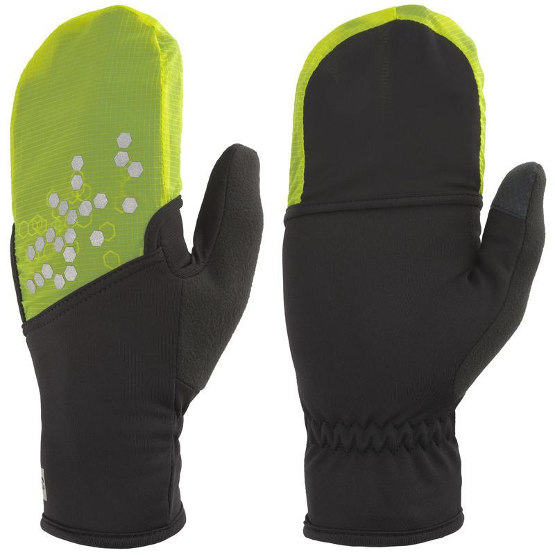 Deploy Run Gloves Black/Hi-Vis Yellow