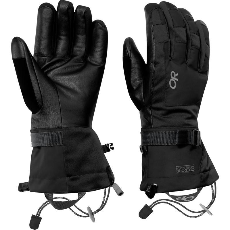Revolution Gloves Black