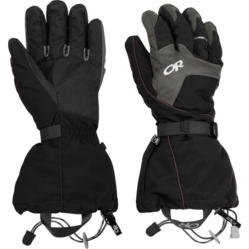 Alti Gloves Black/Charcoal