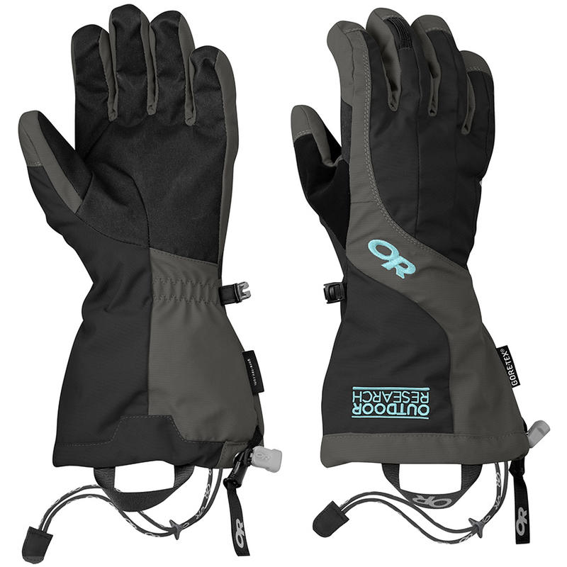 Arete Gloves Black/Charcoal