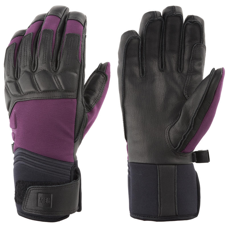 Freeride Gloves Mulberry/Black