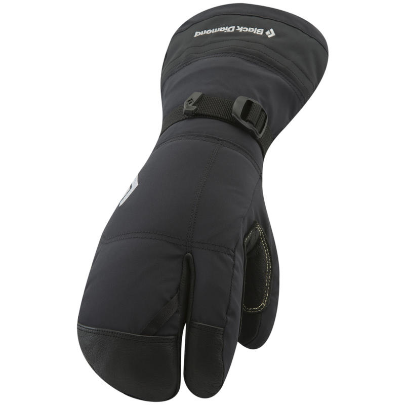 Soloist Finger Mitts Black