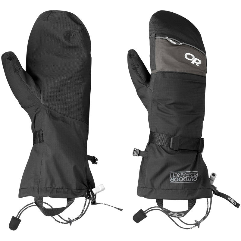 Revel Shell Mitts Black