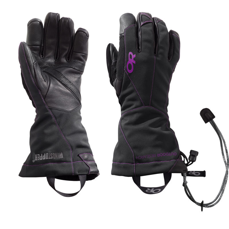 Luminary Sensor Gloves Black/Ultra Violet