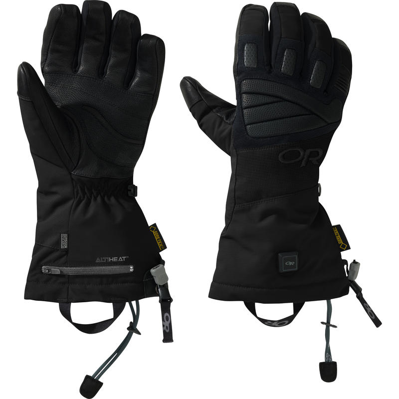 Lucent Heated Gloves Black