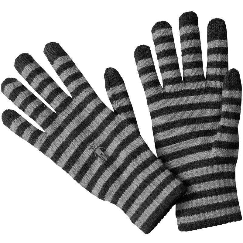 Liner Gloves Black Stripe