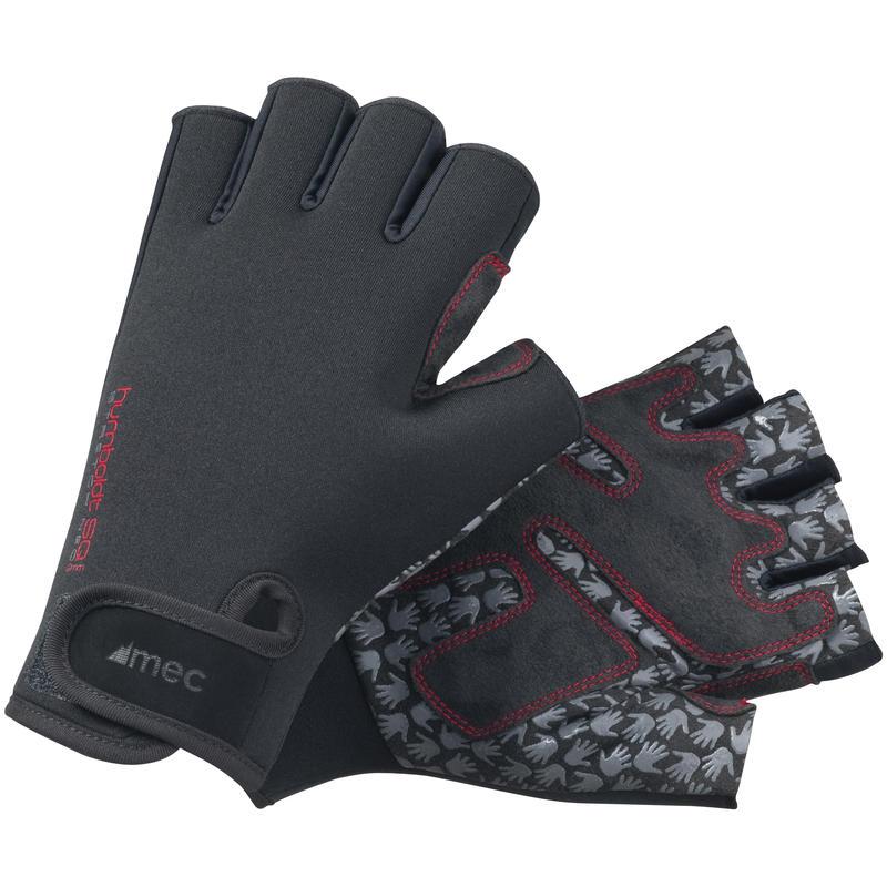 Humboldt SQ 2mm Fingerless Gloves Black