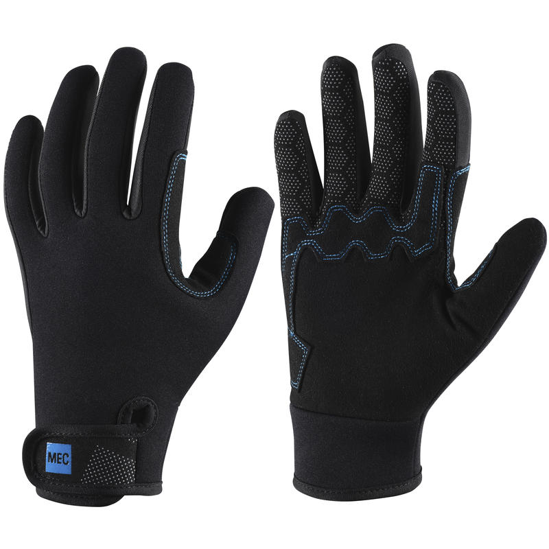 H2O 2mm Gloves Unisex Black