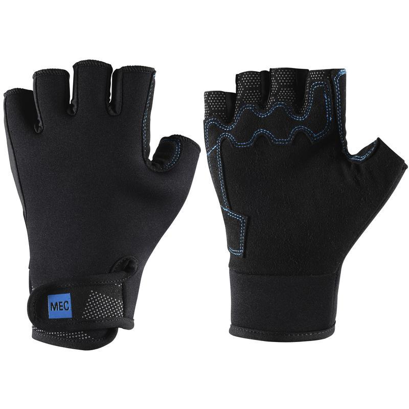 H2O 2mm Fingerless Gloves Black