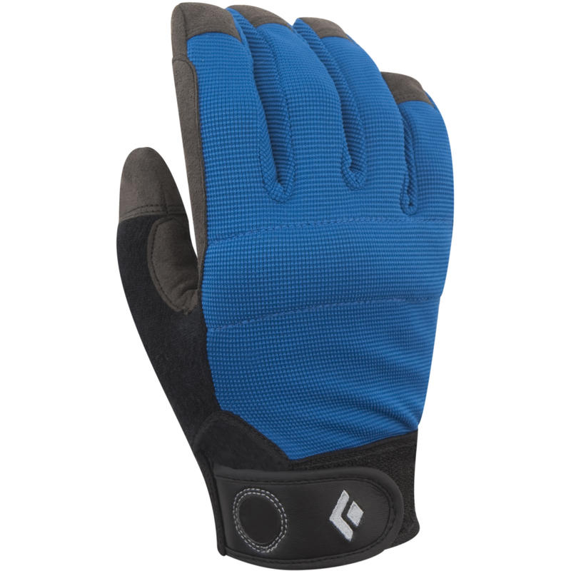 Crag Glove Black/Cobalt Blue