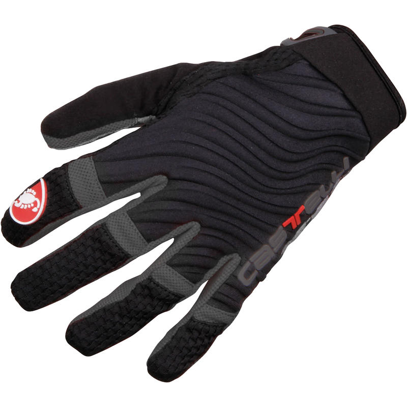 CW 6.0 Cross Gloves Black/Turbulence