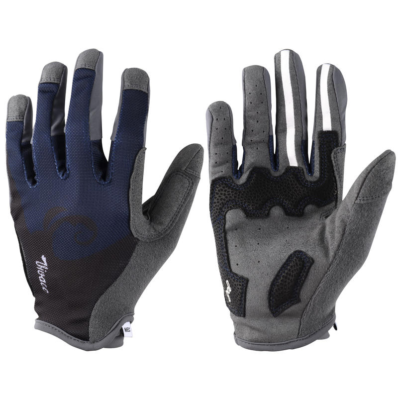 Vivace Cycling Gloves Midnight Blue/Black