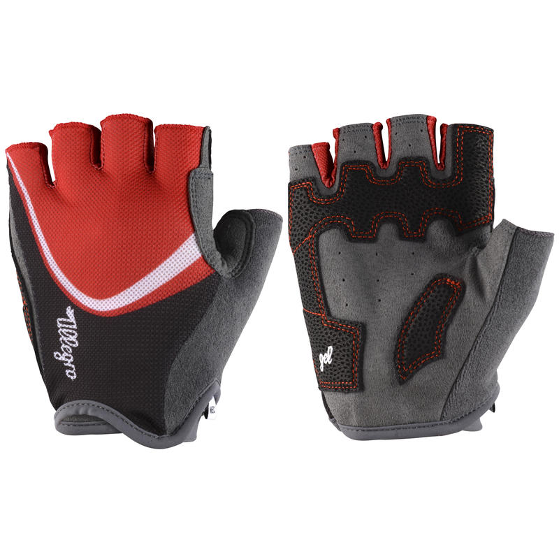 Allegro Cycling Gloves Firecracker/White
