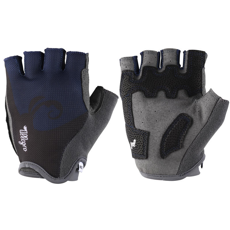 Allegro Cycling Gloves Midnight Blue/Black