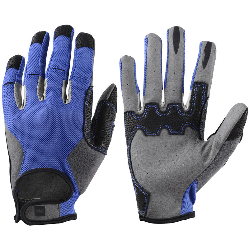 Transmontane Cycling Gloves Moroccan Blue/Black