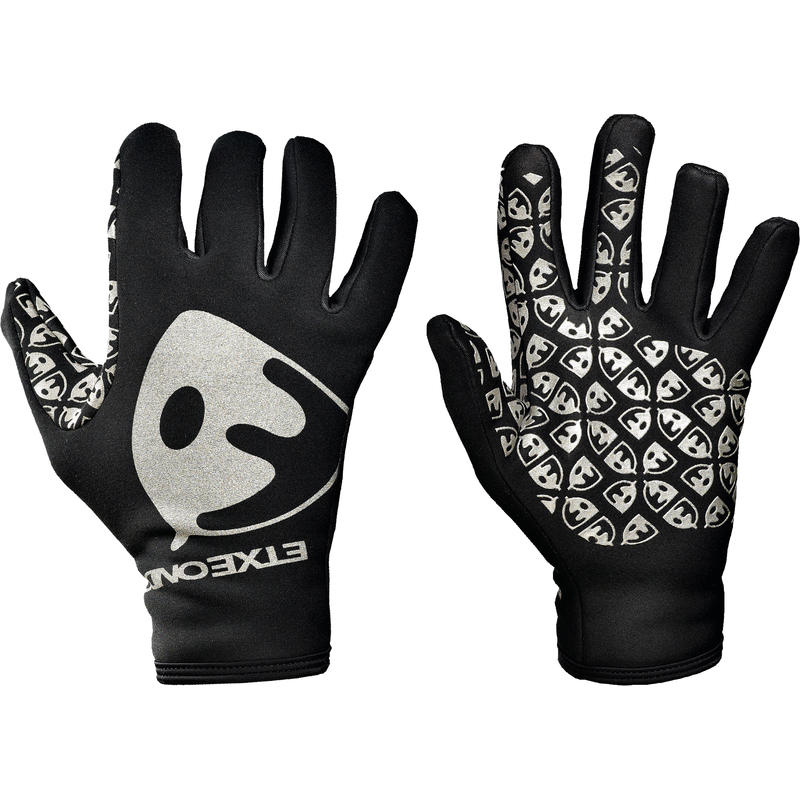 Malgu Gloves Black/White