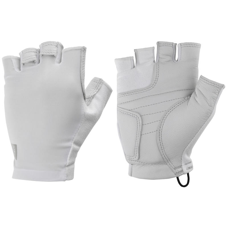 Bolt Cycling Gloves White