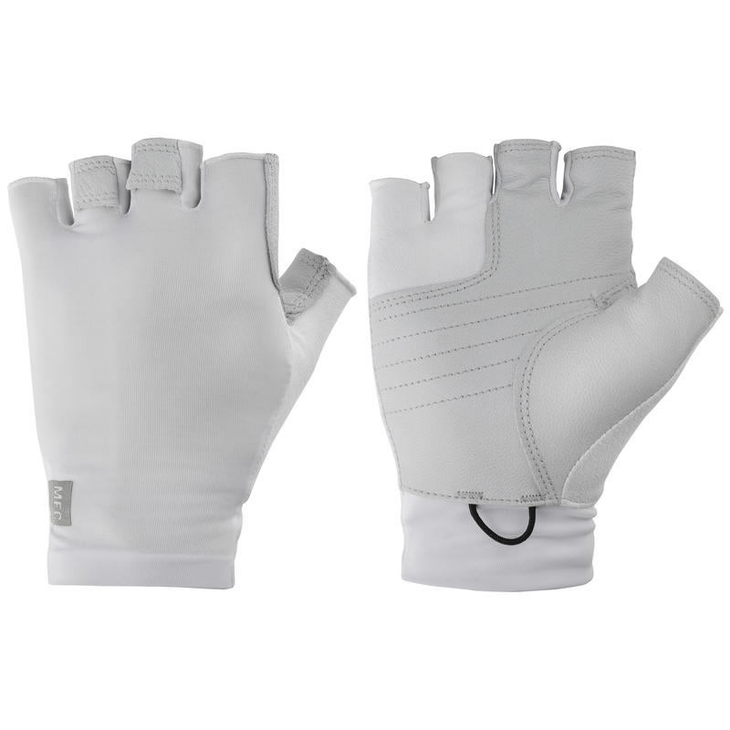 Trojan Cycling Gloves White