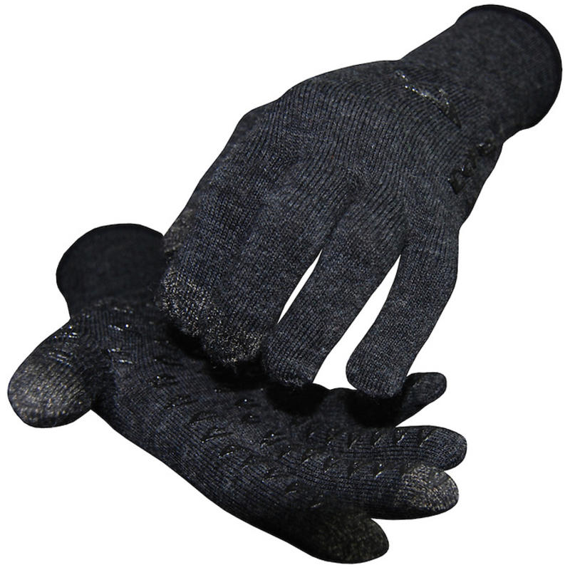 Wool Dura ET Gloves Charcoal