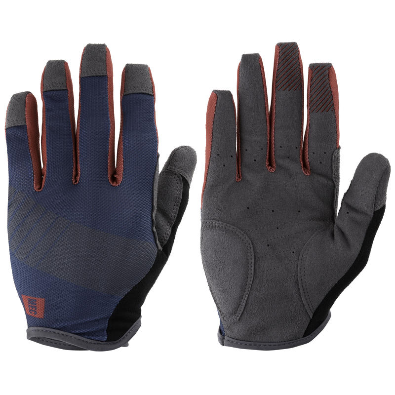 Barrage Cycling Gloves Abyss/Racing Red