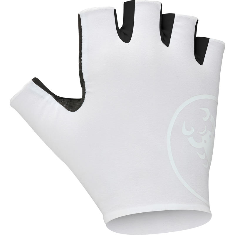 Gants de vélo Secondapelle RC Blanc