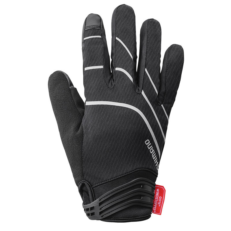 Gants isolants Windstopper Noir