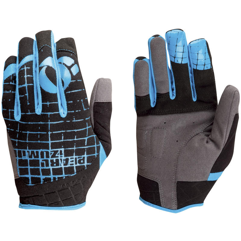 Impact Gloves Black/Electric Blue