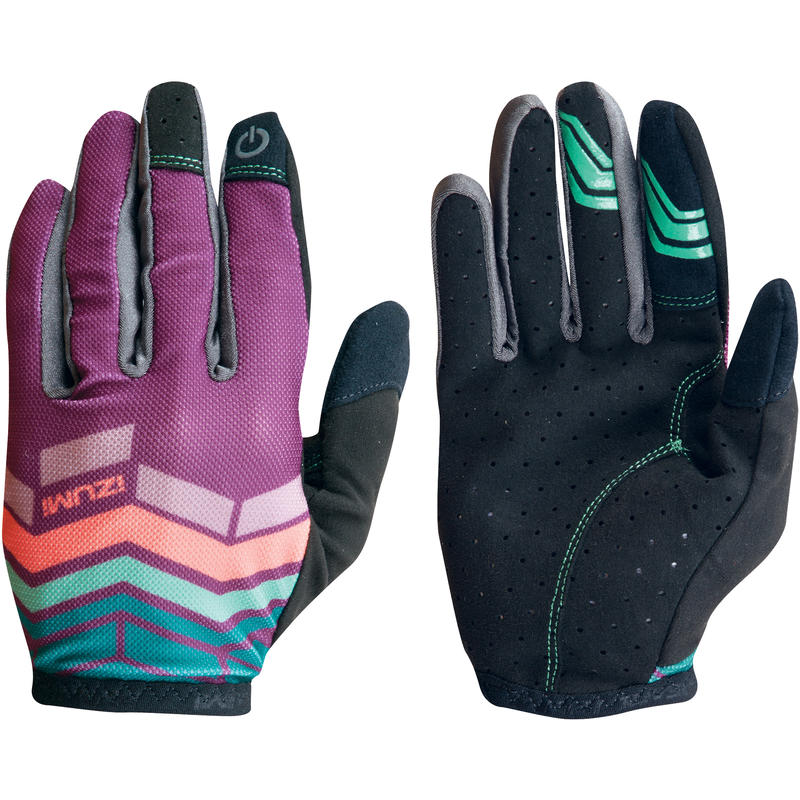Divide Gloves Dark Purple